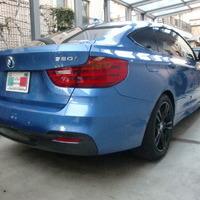 BMW320GT ホイールカラーチェンジ