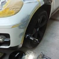 BMWX6 ボディ軽板金