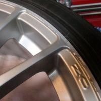 アウディA3 OZレーシングホイールリペア