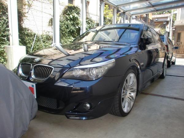 BMW530iA Mスポーツ ホイールリペア