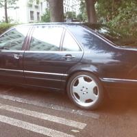 ベンツS600AMG ホイールリペア