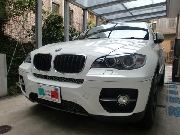 BMWX6 ホイールカラーチェンジ