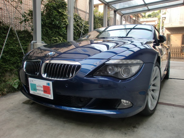 BMW650iカブリオレ ホイールリペア