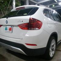 BMWX1 ホイールリペア