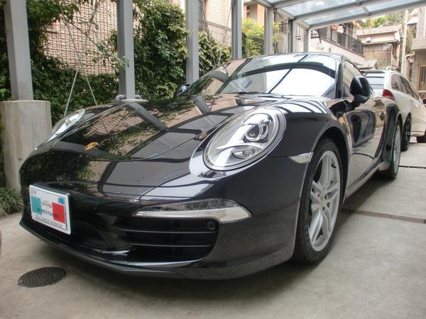 ポルシェ991型911カレラ ホイールリペア