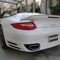 ポルシェ997型911ターボカブリオレ ホイールリペア