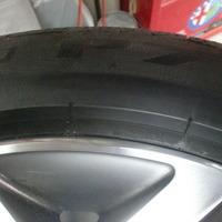 BMWX3 ホイールリペア