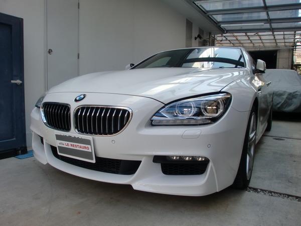 BMW640グランクーペMスポーツ ホイールリペア