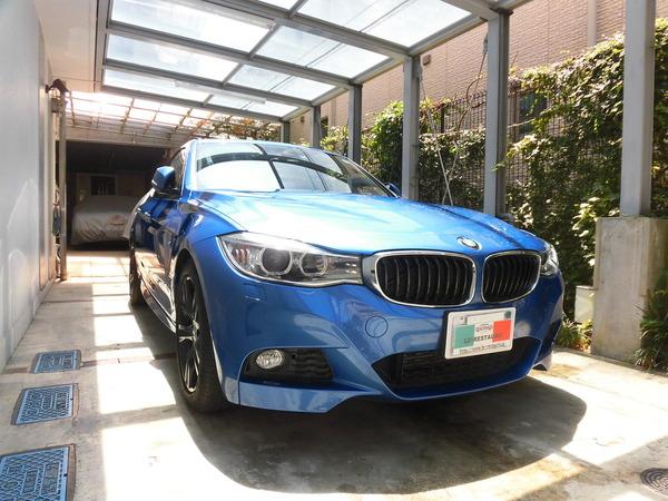 BMW320GTMスポーツ ホイールリペア