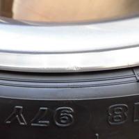 ベンツC200ワゴン ホイールリペア