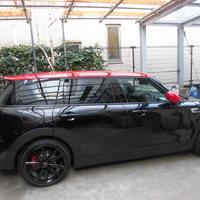 BMWミニクラブマンクーパーS ホイール塗装