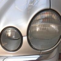 ベンツE320 ヘッドライト曇り除去