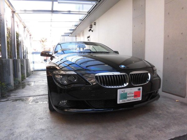 BMW650カブリオレ インテリアリペア