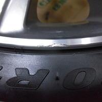 ベンツCLS220d ホイールリペア