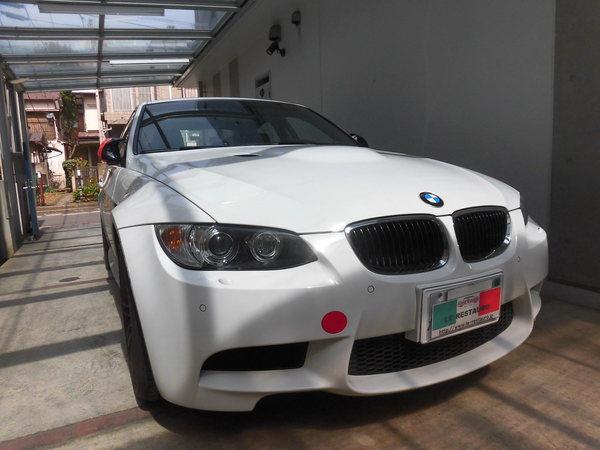 BMW M3セダン ホイールリペア
