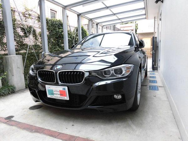 BMW320ツーリングMスポーツ ホイールリペア