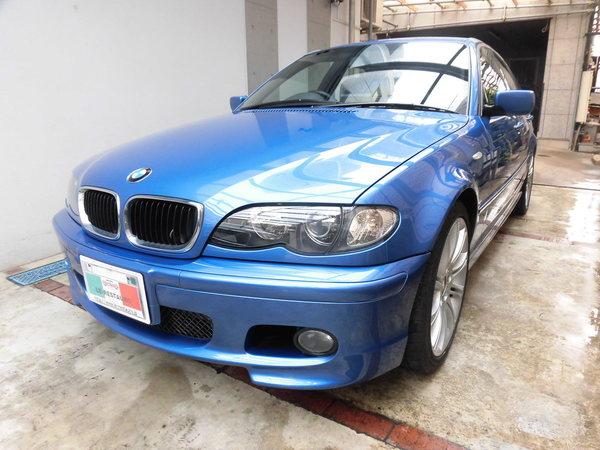 BMW318i Mスポーツ ホイールリペア