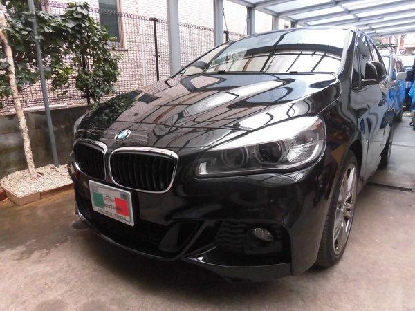 BMW220グランツアラーMスポーツ ホイールリペア
