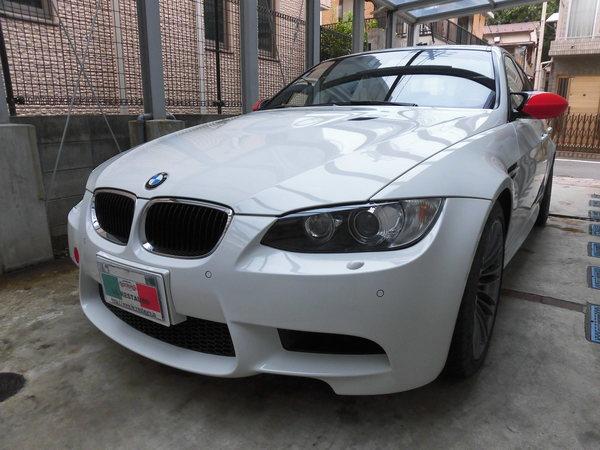 BMWM3セダン ホイールリペア