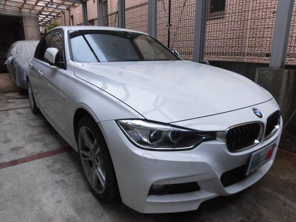 BMW320Mスポーツ ホイールリペア