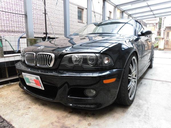 BMWM3カブリオレ ホイールリペア