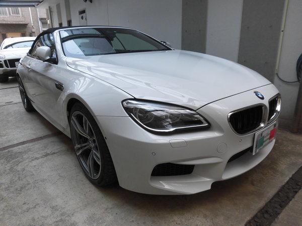 BMW M6 カブリオレ ホイールリペア