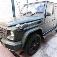 ベンツG350d ホイール(全塗装)カラーチェンジ