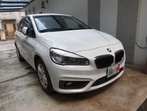 BMW218d ホイールリペア