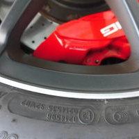 ベンツC63AMGブラックエディション ホイールリペア