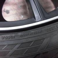 ベンツC63AMGワゴン ホイールリペア
