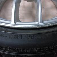 ニッサンフーガ370GT ホイールリペア