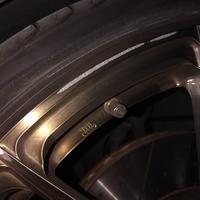 ベンツC63AMGワゴンパフォーマンス ホイールリペア